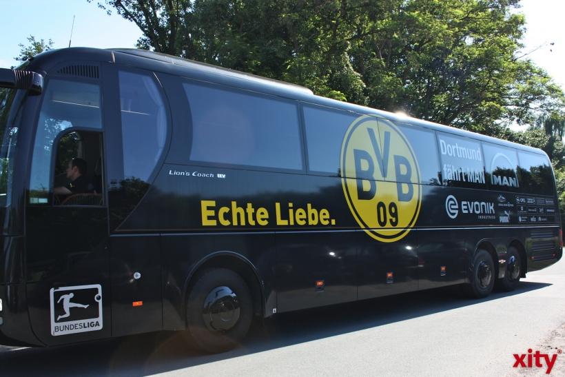 Die U23 des BVB war zu Gast in der Seestadt. (xity-Foto: A.Meyer)