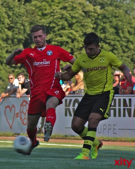 Oguzhan Kefkir überzeugte im Dress des BVB mit zwei Toren. (xity-Foto: A.Meyer)