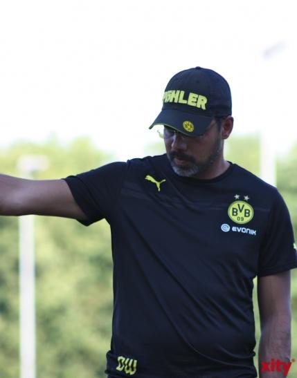 Der Trainer der U23 von Borussia Dortmund: David Wagner. (xity-Foto: A.Meyer)