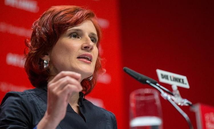 Linke kommt zu Vorstandsklausur in Dresden zusammen (© 2014 AFP)