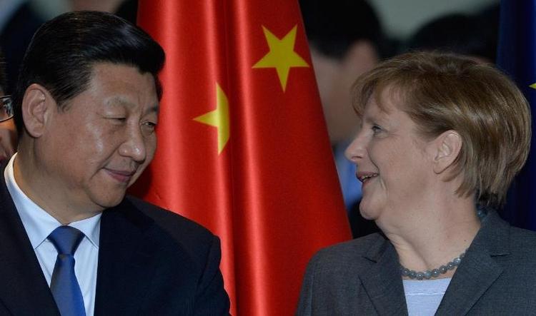 Merkel reist zu offiziellem Besuch nach China (© 2014 AFP)