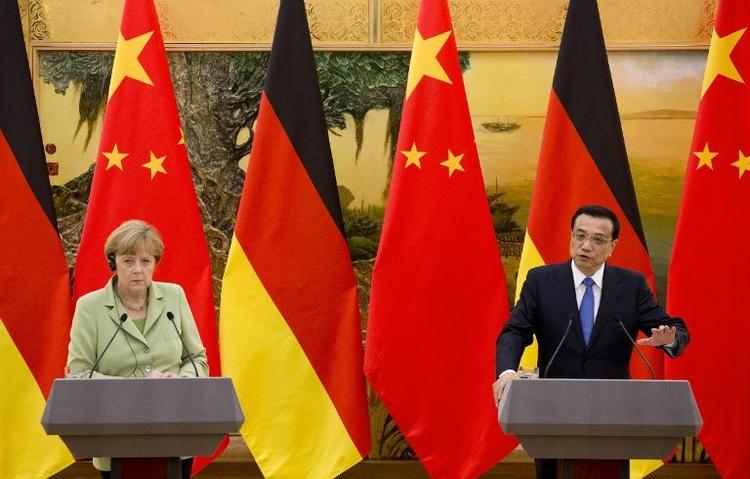 Merkel nennt Spähvorwürfe gegen USA schwerwiegend (© 2014 AFP)
