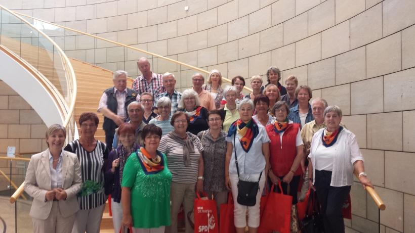 Fischelner Singkreis im Landtag NRW. (Foto: Jan Philip Mohning)