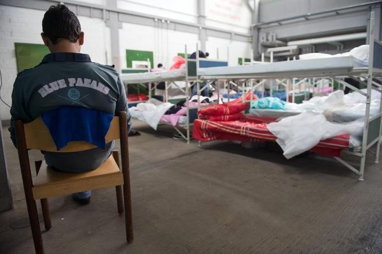 Asylbewerber sollen früher arbeiten können (© 2014 AFP)
