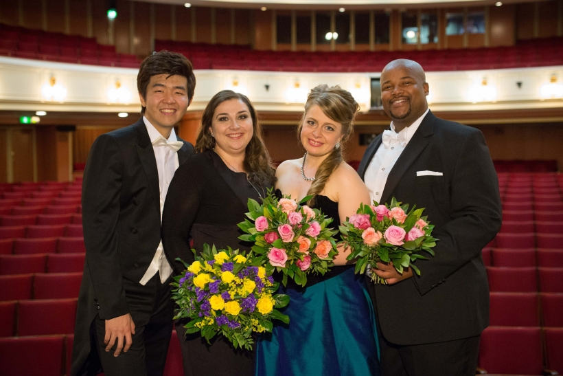 Il Do Song, Irina Churilova, Siobhan Stagg, Siyabulela Ntlale (Foto: Susanne Diesner)