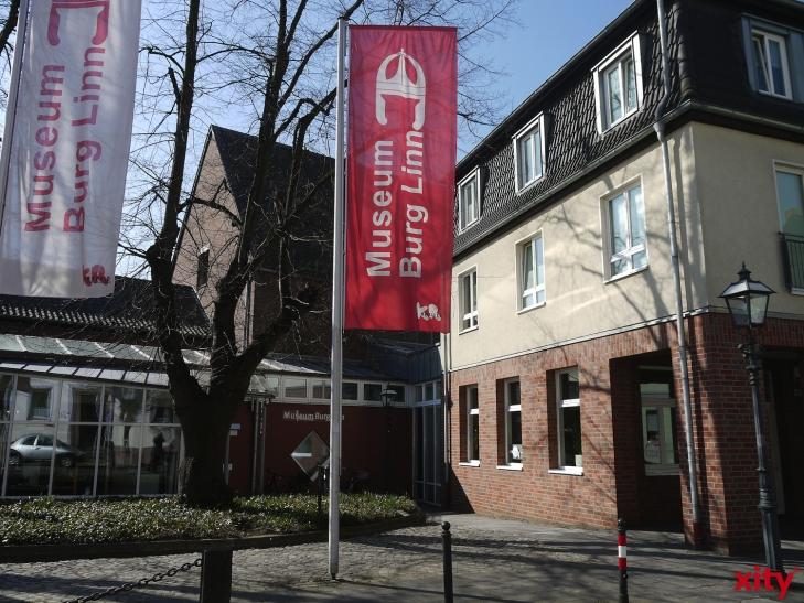 Museum Burg Linn in Krefeld zeigt Ausstellung über den Ersten Weltkrieg. (xity-Foto: E. Aslanidou)