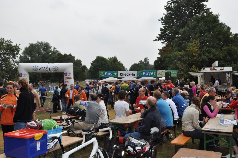 Endspurt zur Anmeldung für den 27. Bayer-Triathlon. (Foto: Jens Sattler)