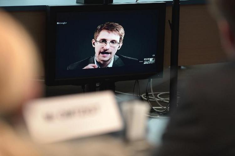 Snowden will nicht per Video vor NSA-Ausschuss aussagen (© 2014 AFP)