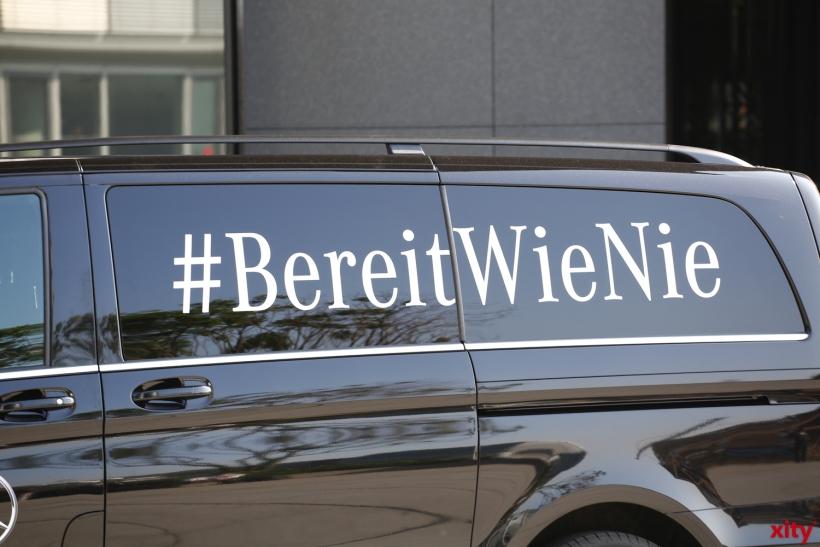 Bereit wie nie - Diesem Hashtag machten die Deutschen alle Ehre (xity-Foto:D. Creutz)