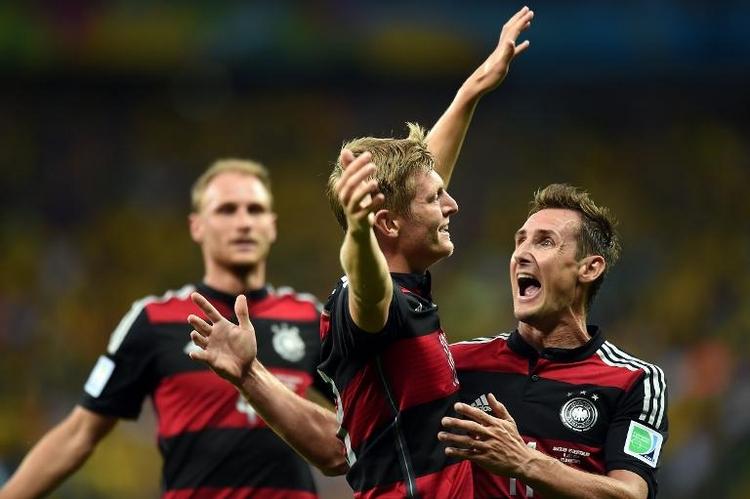 Neue Rekorde für Twitter und ZDF bei WM-Halbfinale (© 2014 AFP)