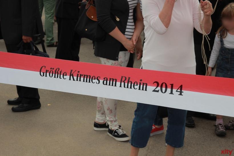 """Countdown für die """"Größte Kirmes am Rhein"""" (xity-Foto: D. Creutz)"""