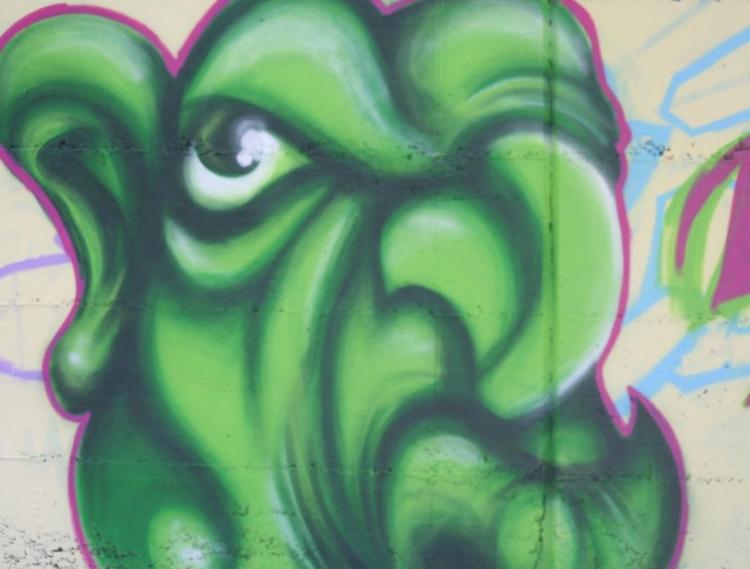 Jugendrat Düsseldorf sucht Graffiti-Künstler für den Skatepark Eller (xity-Foto: M. Völker)