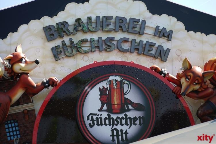Wie in jedem Jahr ist die Brauerei im Füchschen mit seinem Festzelt vertreten (xity-Foto: D. Postert)