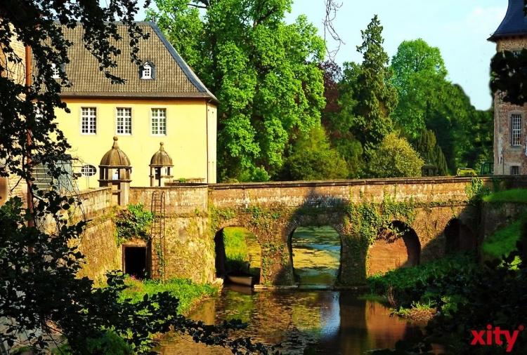 """Besucherführung """"Gartenfokus"""" im Schloss Dyck (xity-Foto: S. Holtschneider)"""