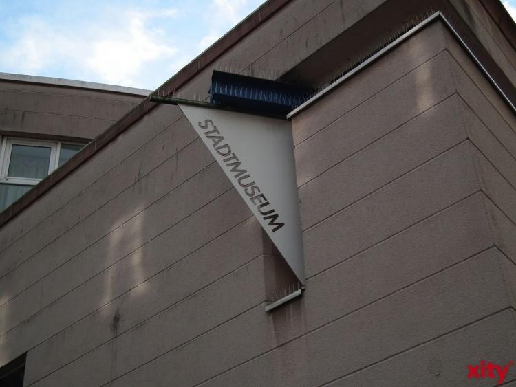 Die Arbeiten mit ganz unterschiedlichen Aufgabenstellungen und Volumina werden jetzt in einer Ausstellung im Düsseldorfer Stadtmuseum präsentiert (xity-Foto: T. Hermann)