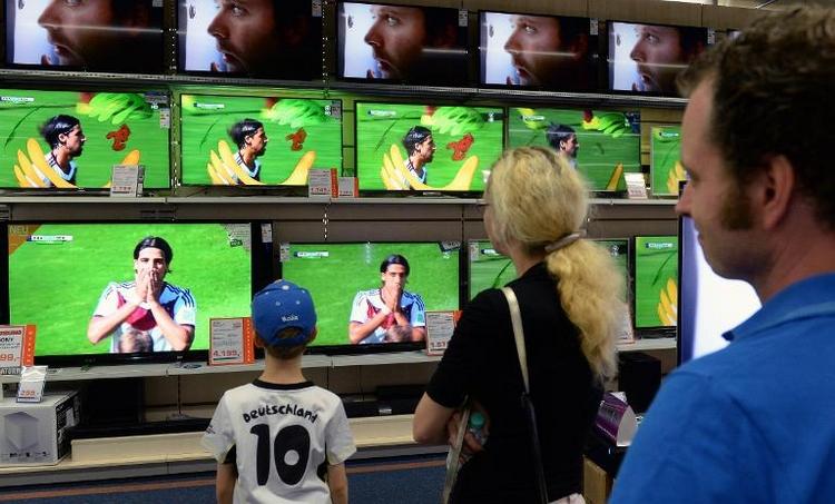 ARD und ZDF feiern Fußball-WM der TV-Rekorde (© 2014 AFP)