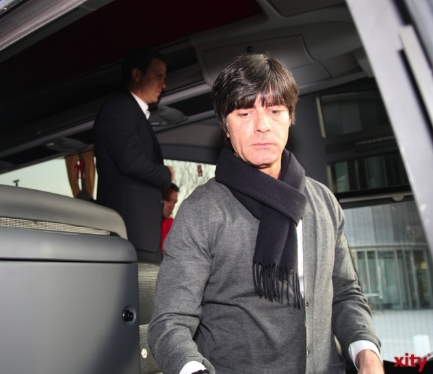 "Fokussierter Blick in Richtung WM-Endspiel: Nationaltrainer Joachim ""Jogi"" Löw (xity-Foto: D. Munstock)"