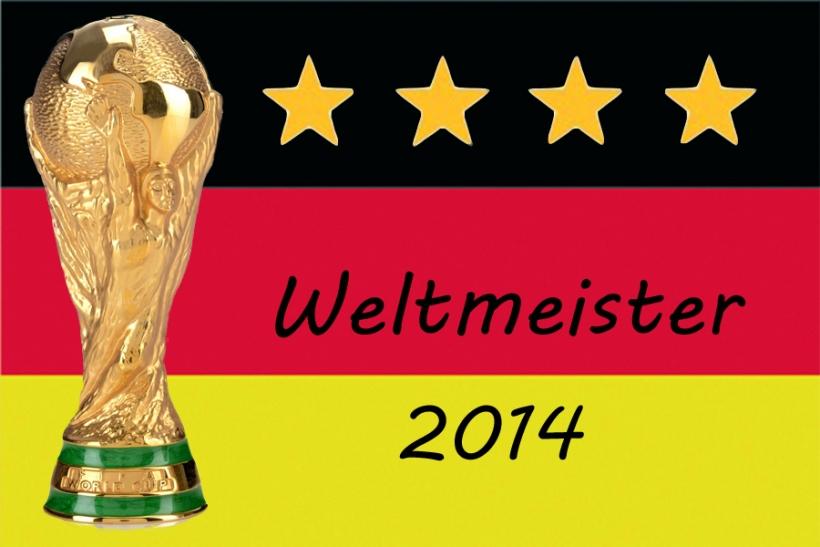 Deutschland ist Fußball-Weltmeister 2014 (xity-Foto: D. Postert)