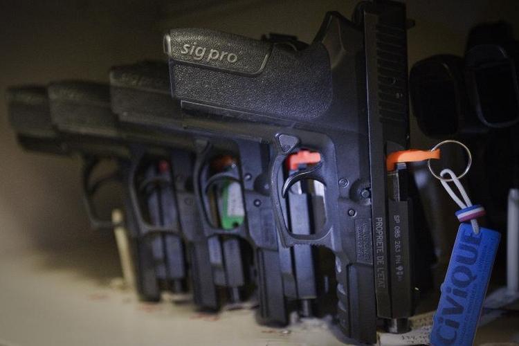 Offenbar Ausfuhrstopp für Waffenexporteur Sig Sauer (© 2014 AFP)