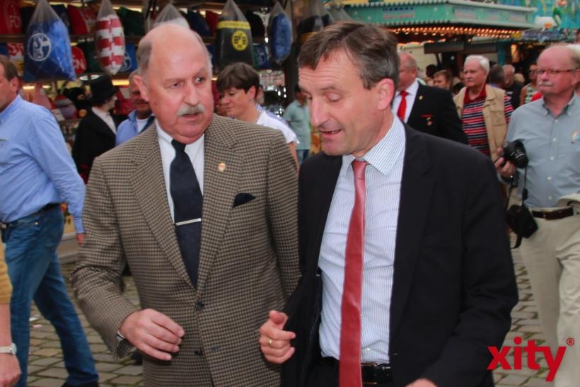 (v.l.) Lothar Inden und Thomas Geisel (xity-Foto: P. Basarir)