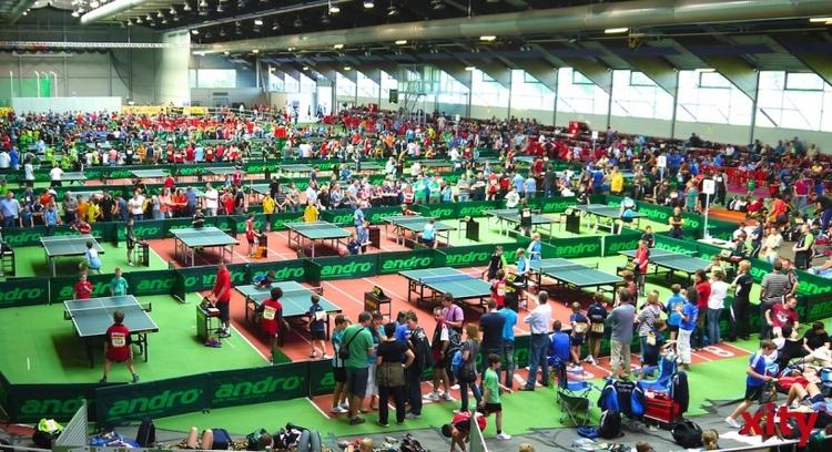 Europas größtes Nachwuchs-Tischtennisturnier andro Kids Open feiert 25. Jubiläum (xity-Foto: T. Hermann)
