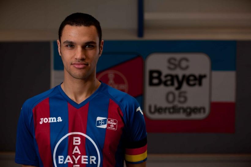 Benjamin Sahel spielt für die Deutsche Futsal-Hochschulauswahl in Malaga. (Foto: Jens Sattler)