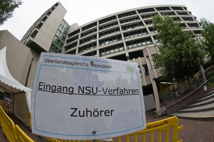 Rechtsextremist Tino Brandt sagt im NSU-Prozess aus (© 2014 AFP)