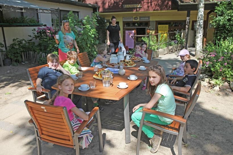 """""""Panama"""" heißt der offene Spielraum der Ganztagsbetreuung der Freien Waldorfschule Krefeld. (Foto: Knut Habicht)"""