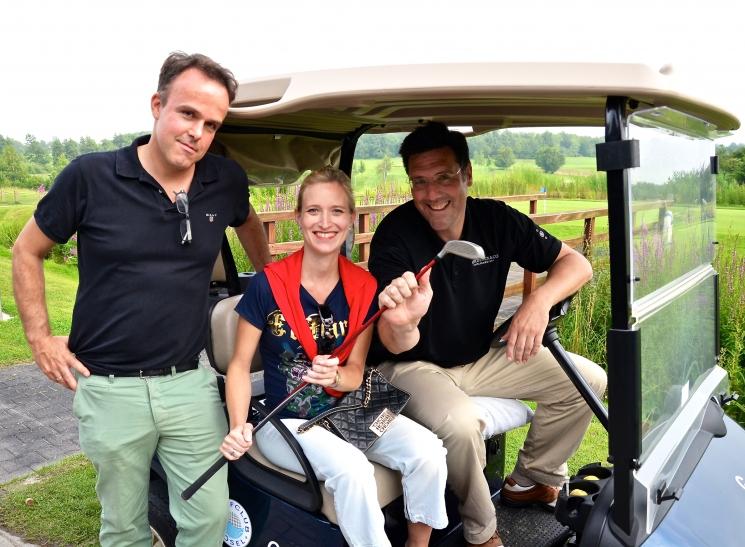 Marc P. Battenstein, Venetia Ursula und Christoph Neu (Foto: Prinzengarde Blau-Weiss)