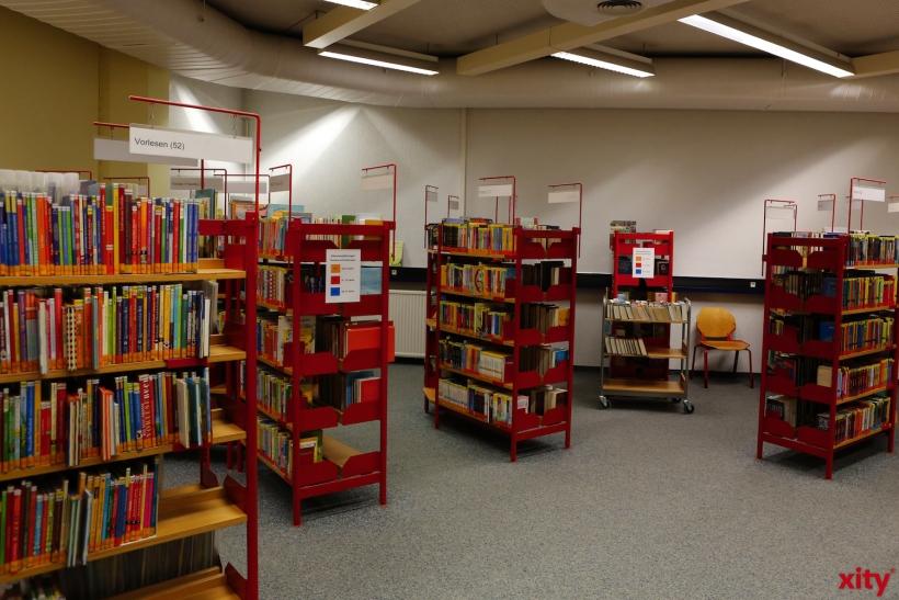 In der Kinderbibliothek steht eine große Auswahl an Büchern zur Verfügung (xity-Foto: D. Creutz)