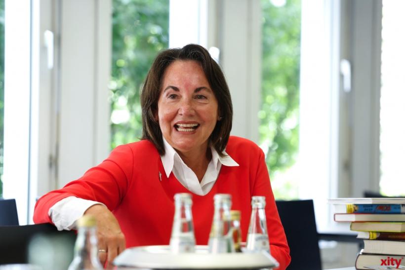 Suzanne Oetker-von-Franquet, Vorstandsvorsitzende der Bürgerstiftung Düsseldorf (xity-Foto: D. Creutz)