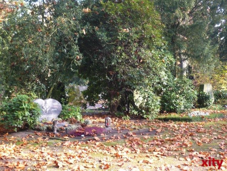 Teile des Nordfriedhofs sind wieder geöffnet (xity-Foto: M. Völker)