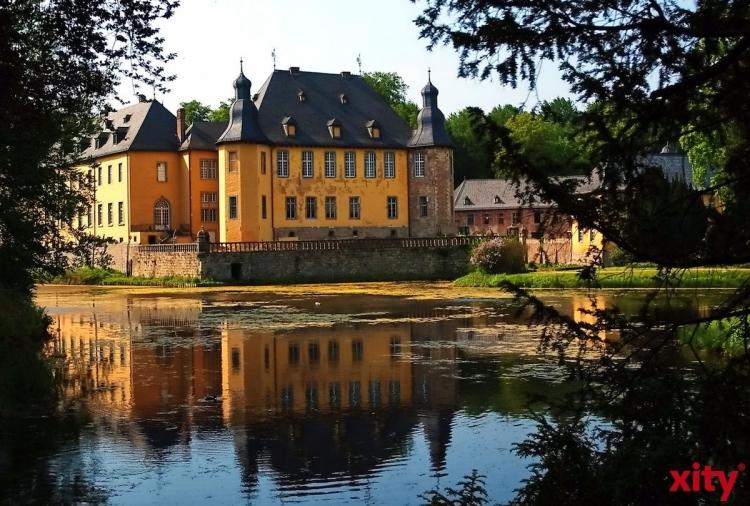 Meditativer Spaziergang um Schloss Dyck (xity-Foto: S. Holtschneider)