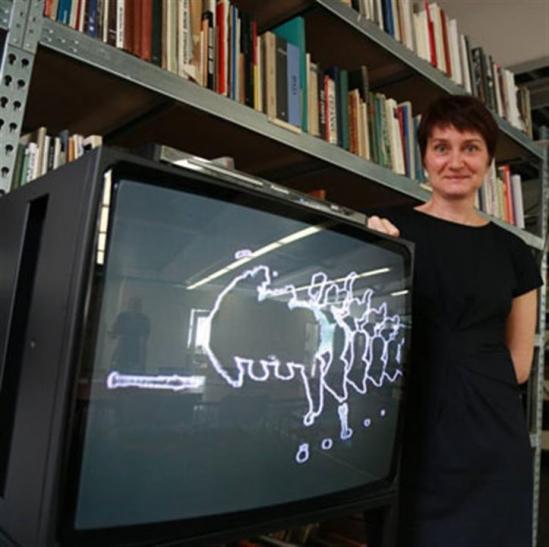 Nam June Paik ? Pionier der Videokunst im Museum Haus Lange (Foto: Stadt Krefeld)