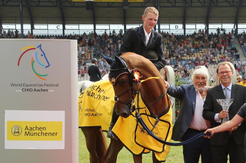 Schuttert holt Preis der AachenMünchener (Foto: CHIO Aachen/MichaelStrauch)