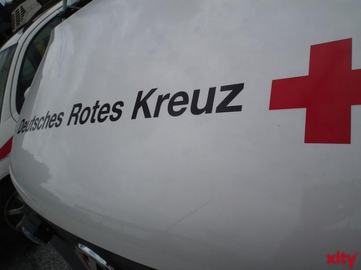 Das Deutsche Rote Kreuz unterstützt die Essener Tafel. (xity-Foto: M. Völker)