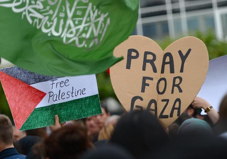 Zentralrat der Juden: Antisemitismus bei Demos (© 2014 AFP)