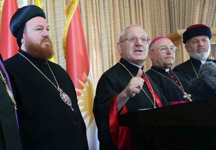 Singhammer fordert Aufnahme irakischer Christen (© 2014 AFP)