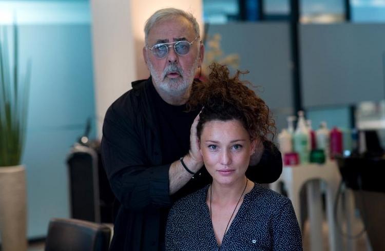 Promi-Friseur Udo Walz sieht das Alter gelassen (© 2014 AFP)