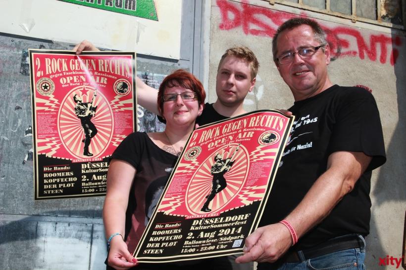 """""""Rock gegen Rechts"""" in Düsseldorf geht in Runde 2 (xity-Foto: P. Basarir)"""