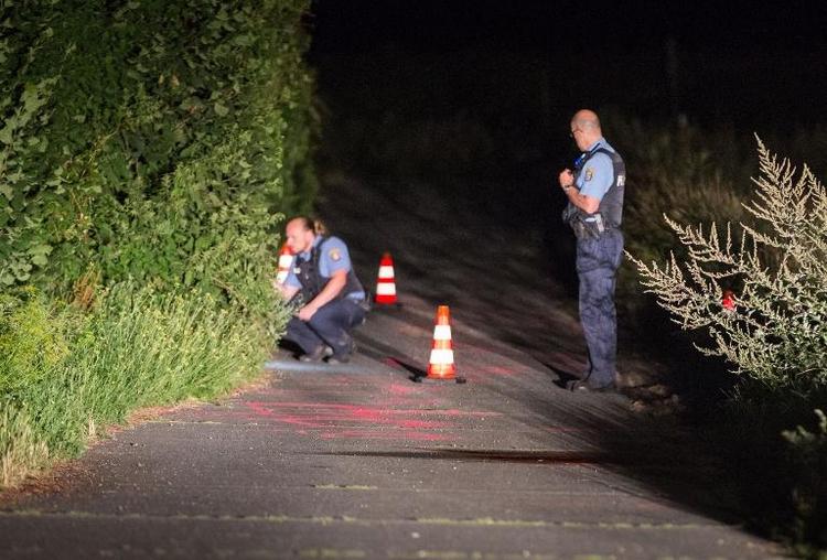 Polizist in Hessen auf offener Straße erschossen (© 2014 AFP)