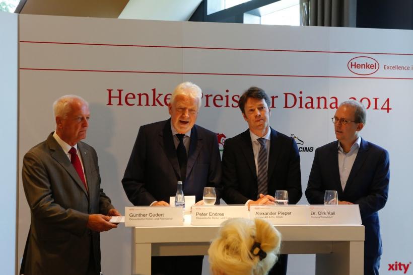 Günther Gudert, Peter Endres, Alexander Pieper und Dr. Dirk Kall (xity-Foto: D. Creutz)