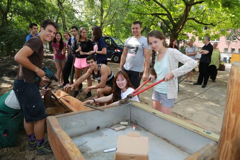 Jugendliche aus neun Nationen wirkten mit. (xity-Foto: E. Aslanidou)