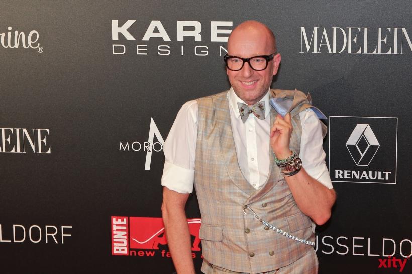 Designer Thomas Rath lässt sich den New Faces Award nicht entgehen (xity-Foto: P.Basarir)