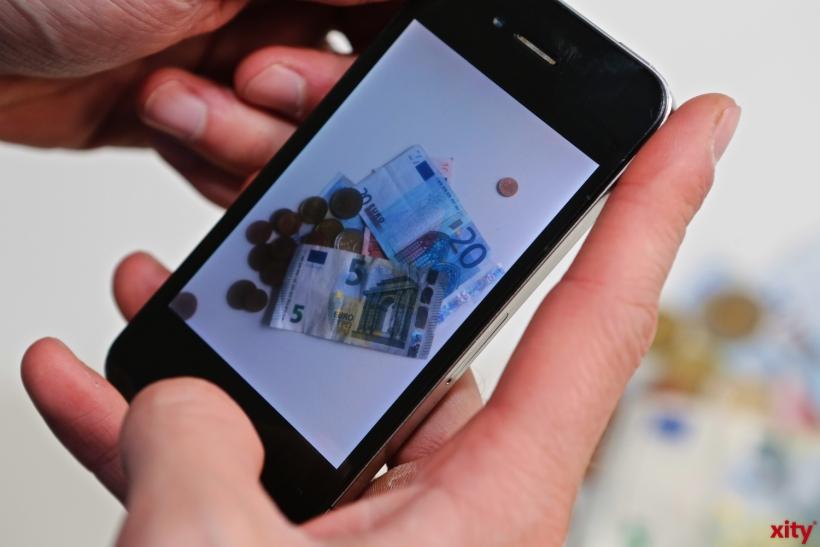 Bezahlen per App immer beliebter (xity-Foto: P. Basarir)