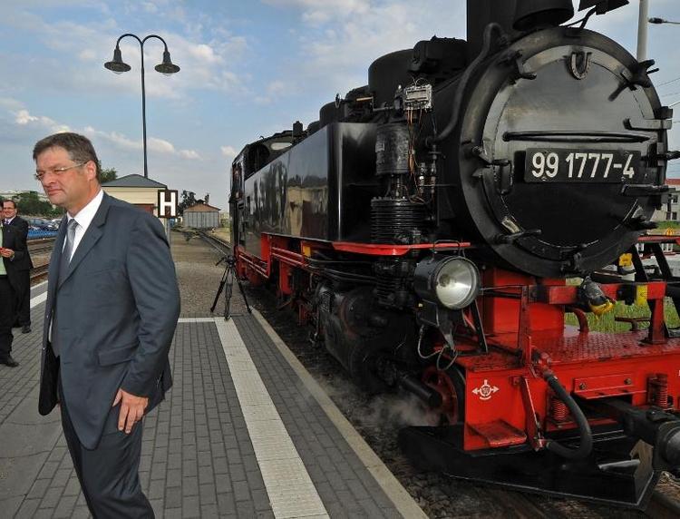 Sachsens FDP verzichtet in Wahlkampf auf Bundespartei (© 2014 AFP)