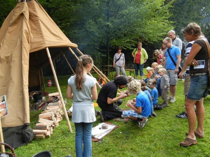 Aktionen rund um das Neanderthal (Foto: Neanderthal Museum)