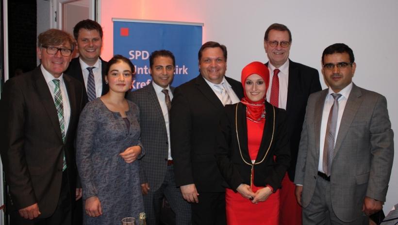 Fastenbrechen der SPD Krefeld. (Foto: Ruth Esser-Rehbein)