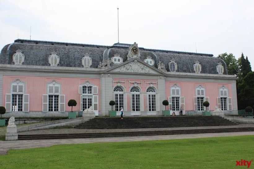 Mehr als 10.000 Besucher werden am Benrather Schloss erwartet (xity-Foto: H.Müller)
