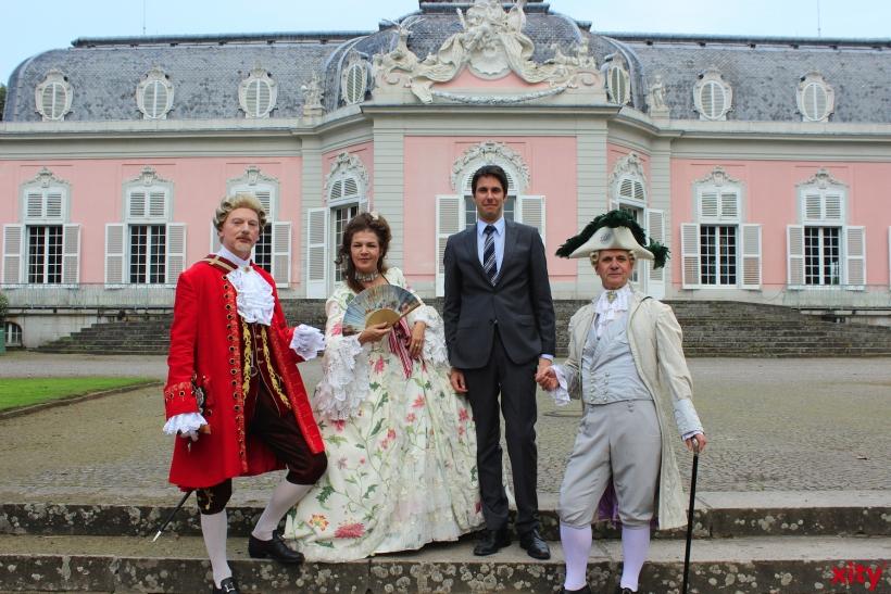 Düsseldorfer Barockfest Schloss Benrath (xity-Foto: H.Müller)